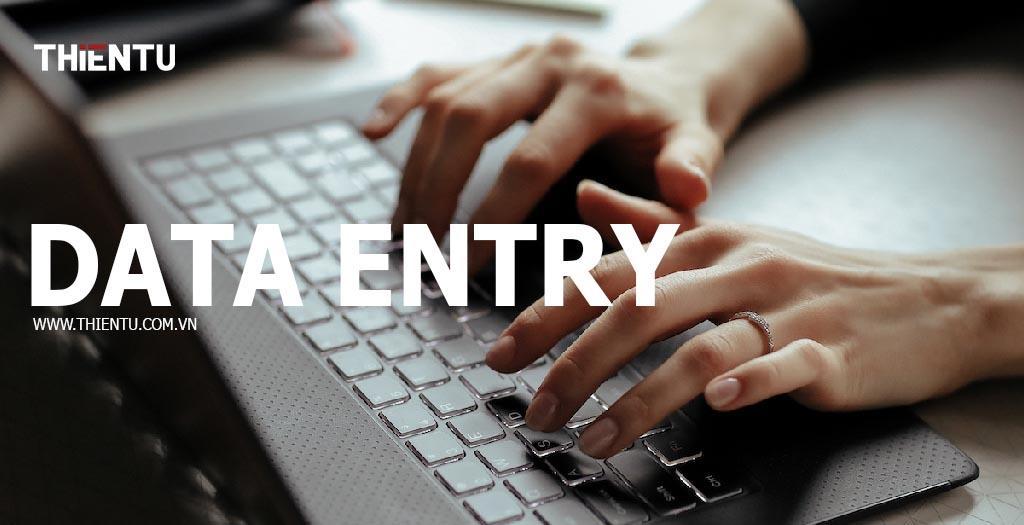Data entry là gì
