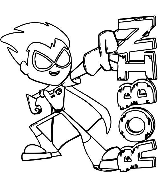 tranh tô màu cartoon network