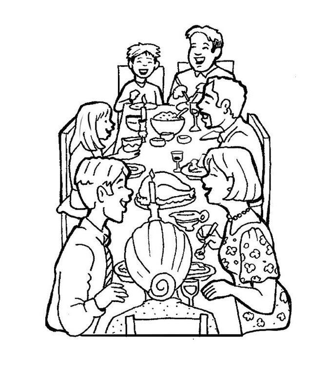tranh tô màu gia đình hạnh phúc vui vẻ